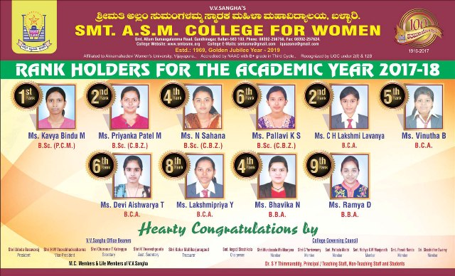 ASM Rank Holders 16.5x10 A