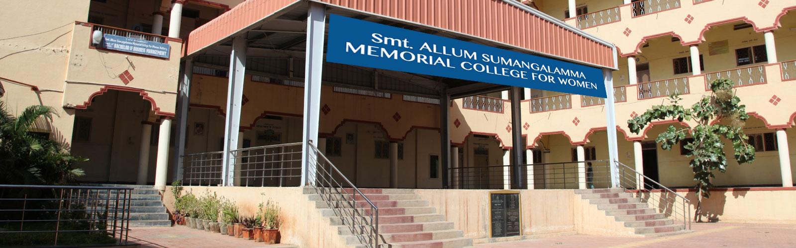 Welcome to Smt. Allum Sumangalamma Memorial College for Women